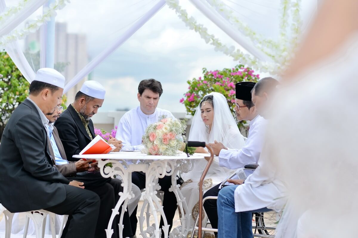 Bangkok islamic wedding marriage package shikirah paul bangkok islamic wedding junglespirit Image collections