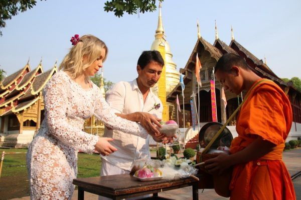 Chiang Mai Buddhist Blessing