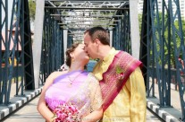 Chiang Mai Temple Buddhist Blessing Package : Julie + Tim
