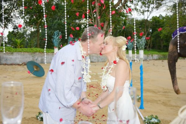 Khaolak Elephant Wedding