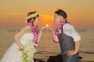 Khaolak Beach Elephant Wedding Ceremony Package : Yuko + Deok