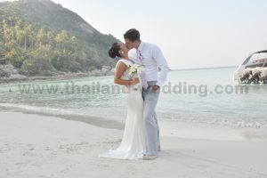 Phangan Beach Wedding Package : Rebecca + Kai
