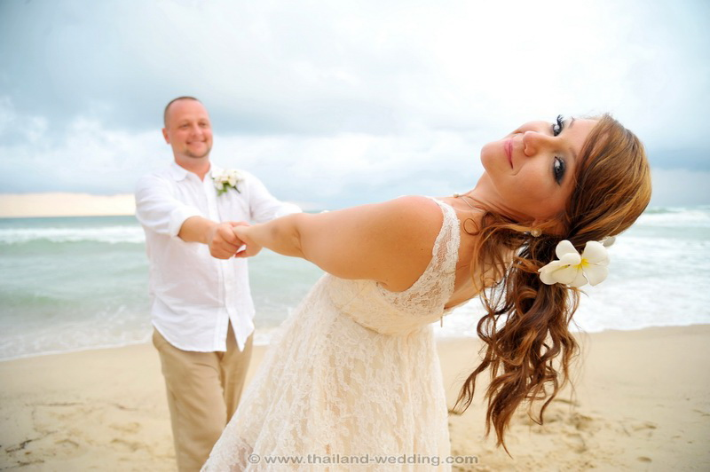 Phuket Beach Wedding Package : Lacey + Christopher
