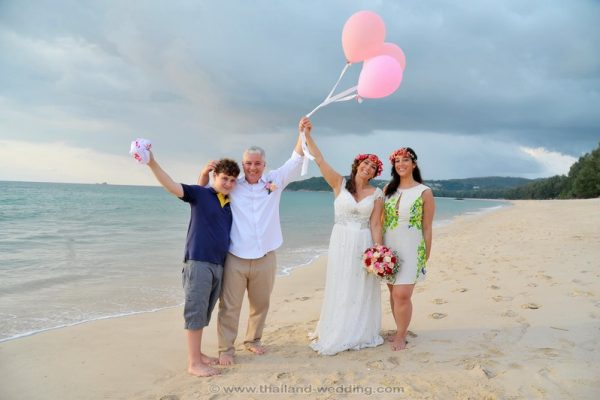 Phuket Protestant Wedding