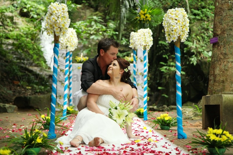 Phuket Waterfall Wedding