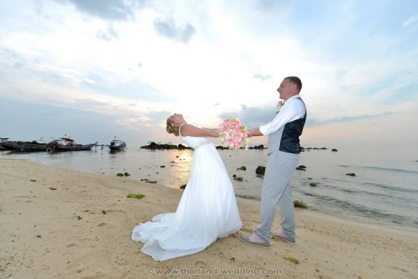 Samui Beach Wedding