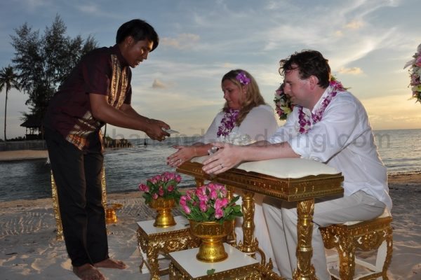 Koh Chang Buddhist Blessing