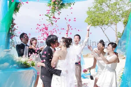 Bamboo Island Western Wedding Packages Gallery 2014 Thailand