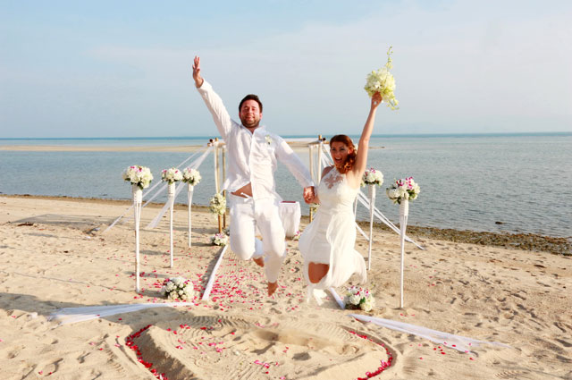 Koh phangan destination wedding packages planner thailand for East coast wedding destinations