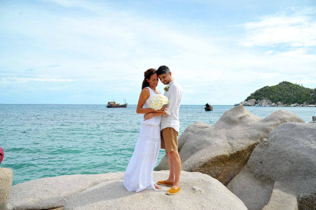 Koh tao destination wedding packages planner thailand for East coast wedding destinations
