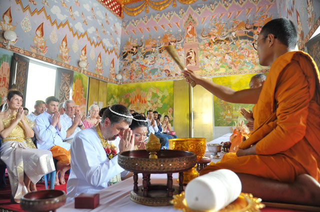 Buddhist Blessing Option 01 Wedding Package Thailand