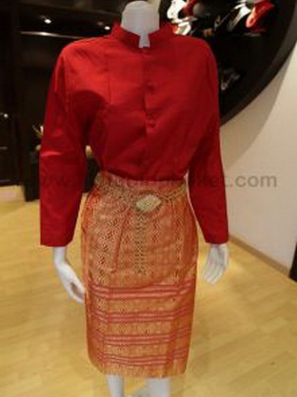 Female Thai Costume 057