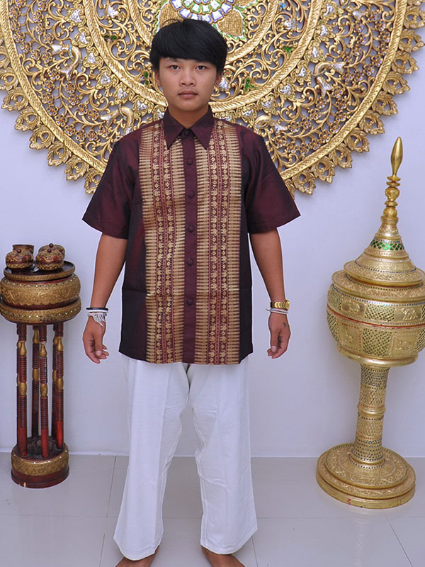 Male Thai Costume : Fisherman Style 001