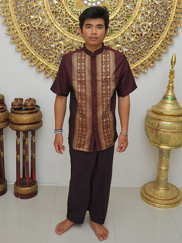 Male Thai Costume : Fisherman Style 002