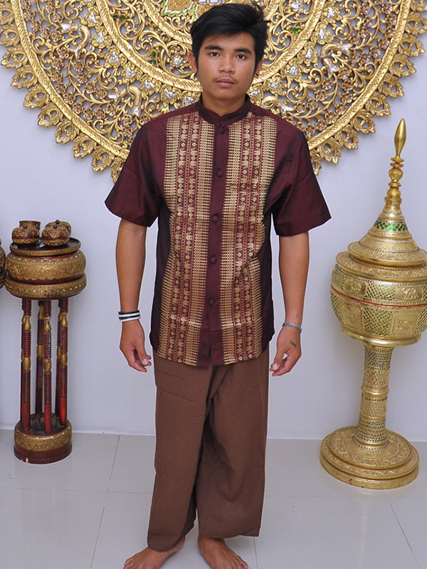 Male Thai Costume : Fisherman Style 004