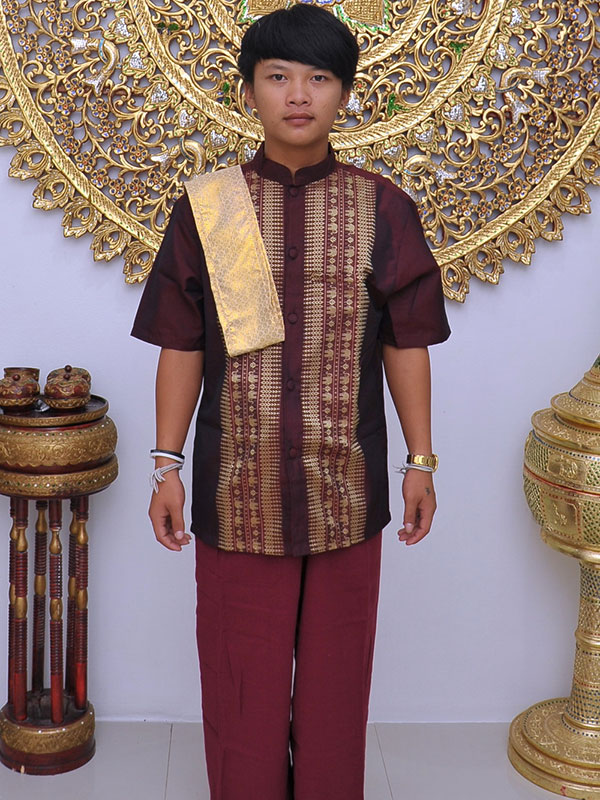 Male Thai Costume : Fisherman Style 006
