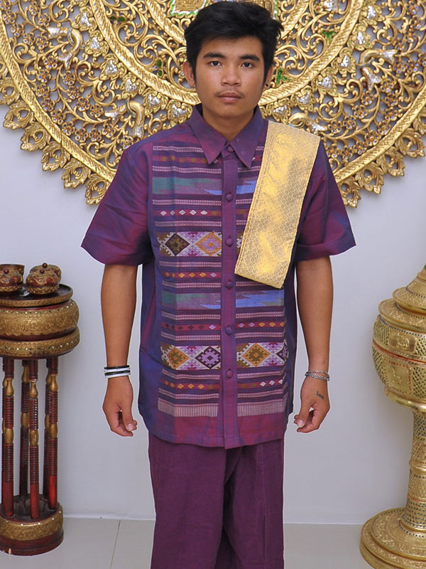 Male Thai Costume : Fisherman Style 009