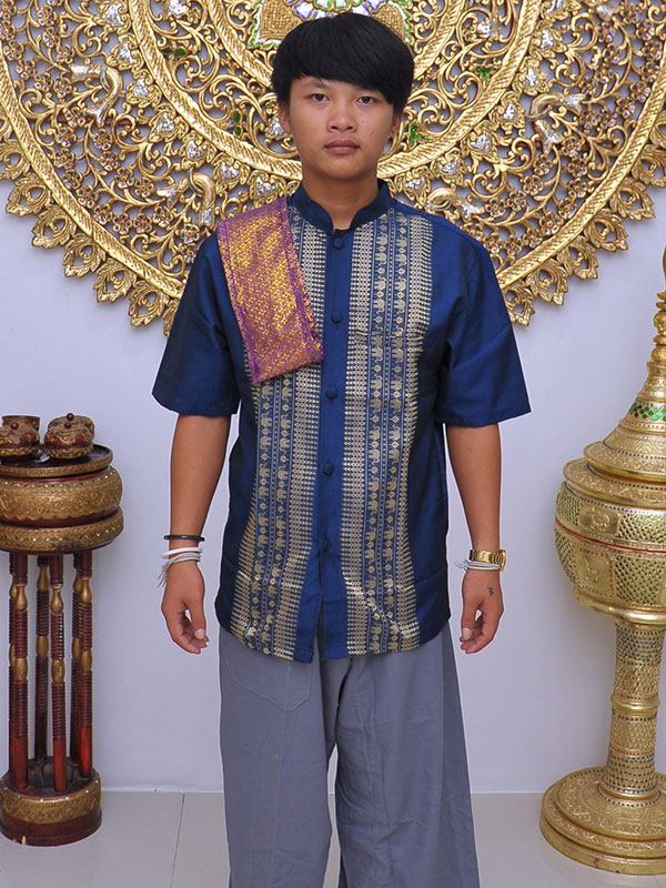 Male Thai Costume : Fisherman Style 010