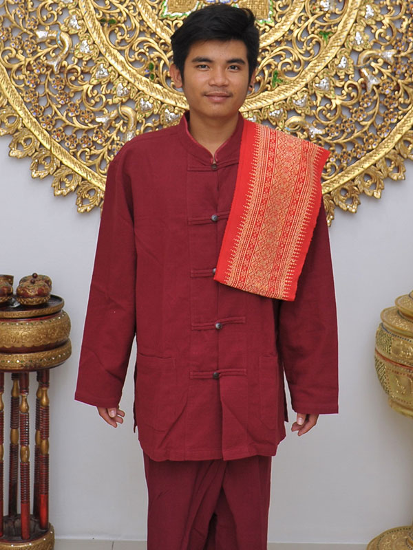 Male Thai Costume : Fisherman Style 012