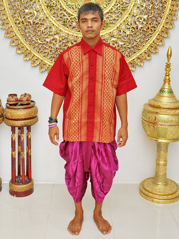 Male Thai Costume : Loincloth 026.