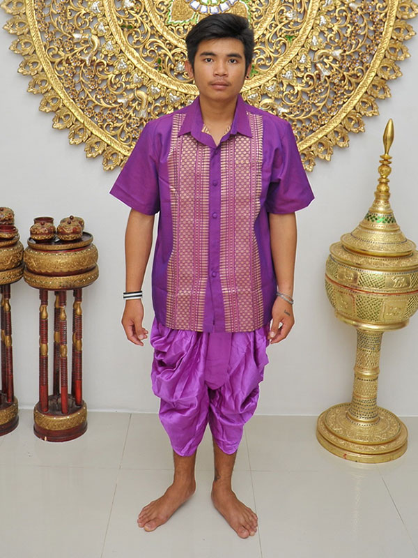 Male Thai Costume : Loincloth 027