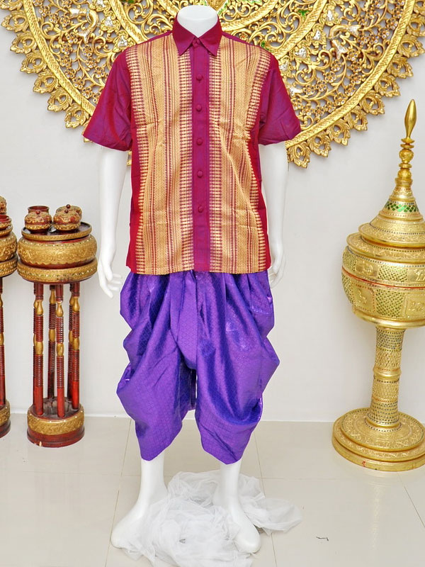 Male Thai Costume : Loincloth 028