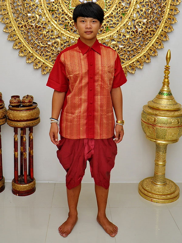 Male Thai Costume : Loincloth 029