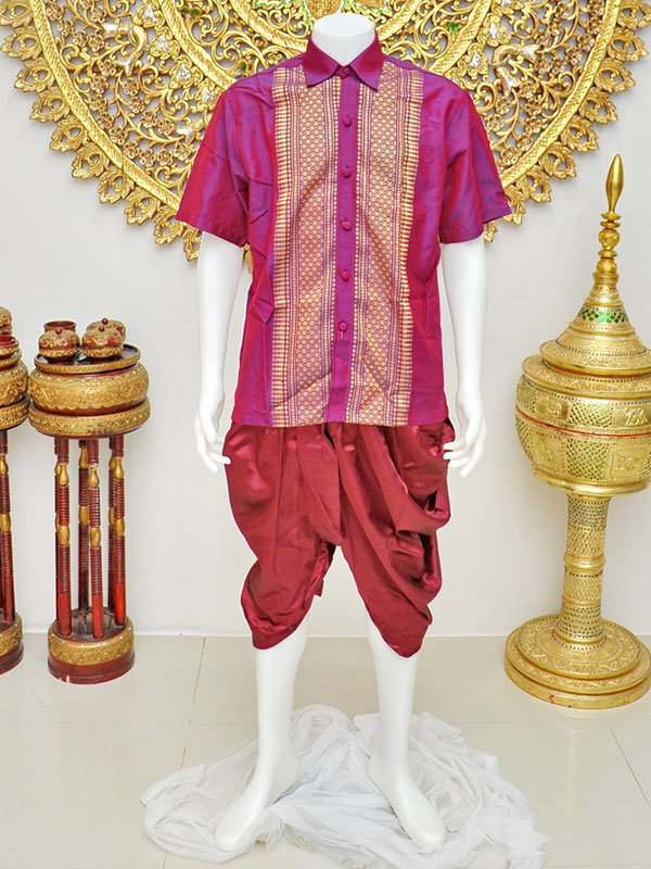 Male Thai Costume : Loincloth 031