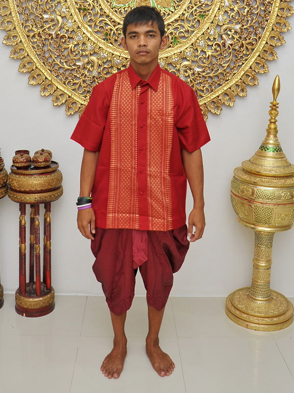 Male Thai Costume : Loincloth 035