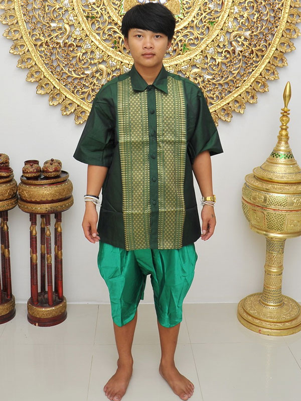 Male Thai Costume : Loincloth 036