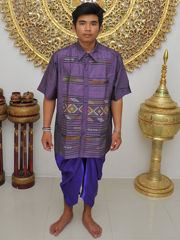Male Thai Costume : Loincloth 049