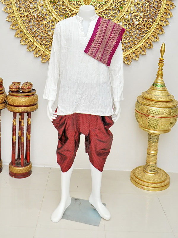 Male Thai Costume : Loincloth 051