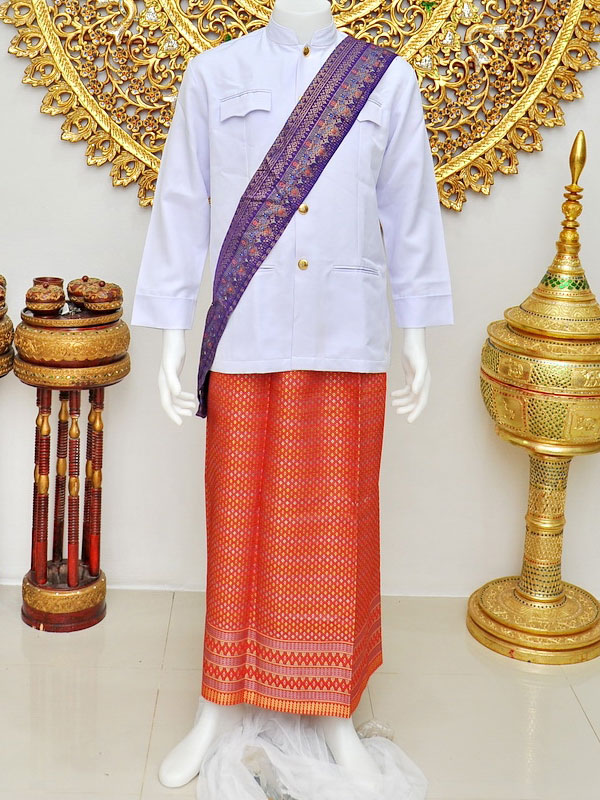 Male Thai Costume : Suit Style 002