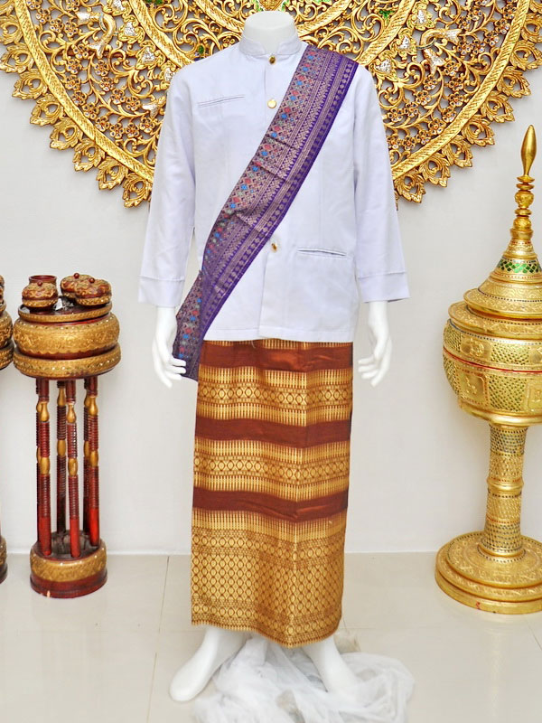 Male Thai Costume : Suit Style 003