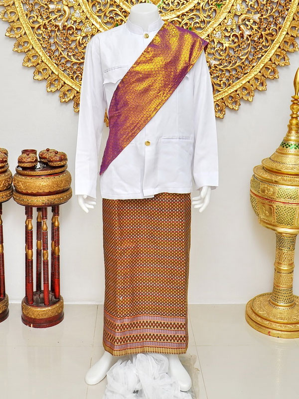 Male Thai Costume : Suit Style 005