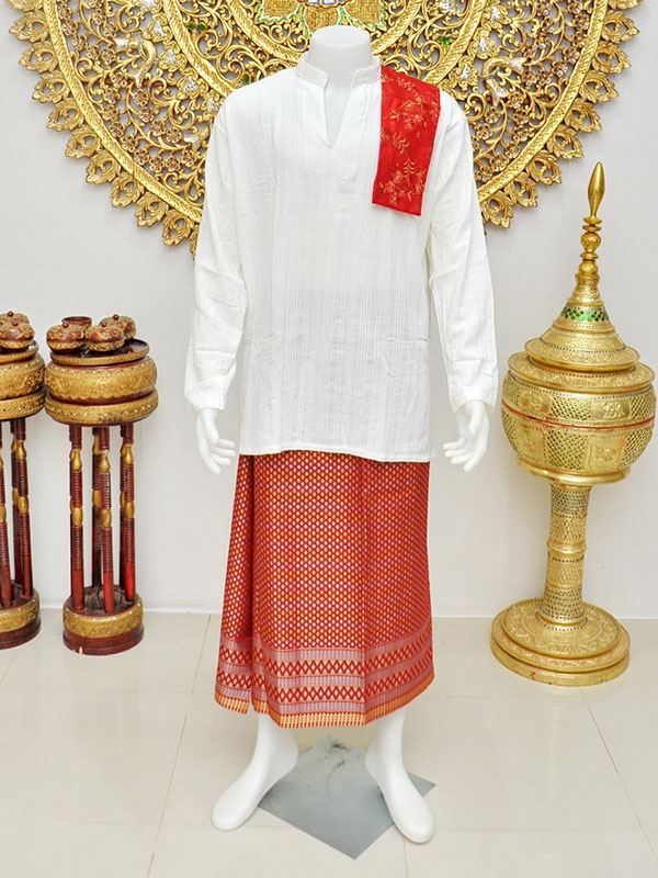 Male Thai Costume : Suit Style 008
