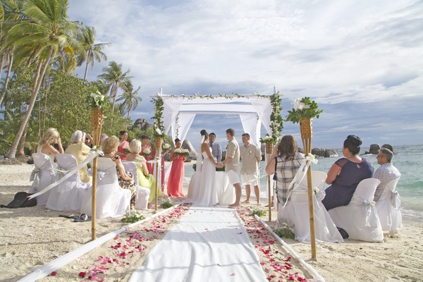 Koh tao wedding ceremony packages destination thailand for East coast wedding destinations