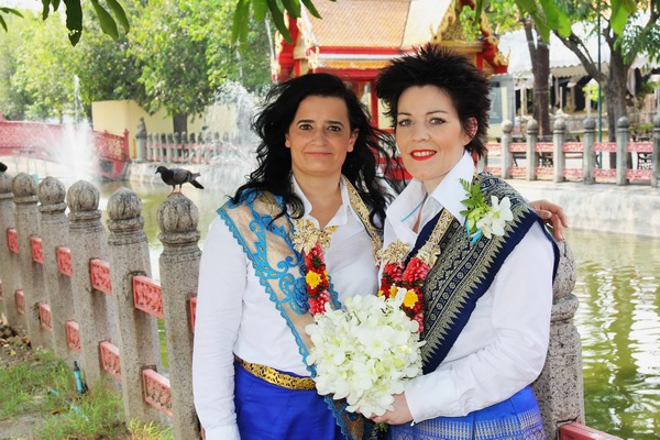 Bangkok Temple Same-Sex Marriage Blessing Package Afternoon