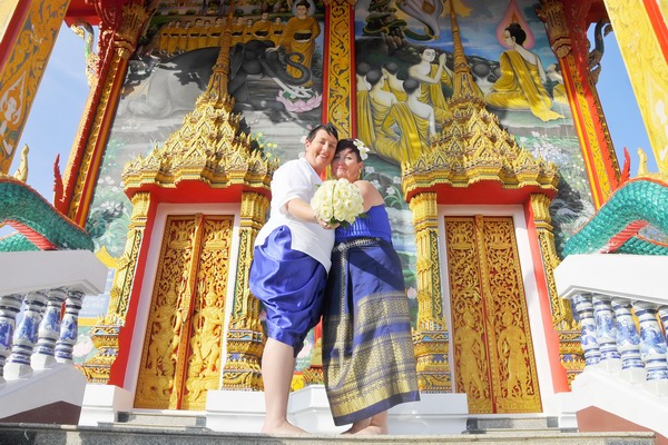 Phuket Temple Same-Sex Marriage Blessing Package Afternoon