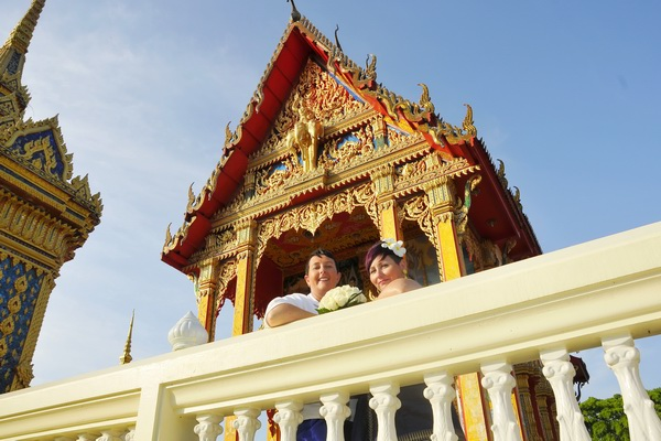 Phuket Temple Same-Sex Marriage Blessing Package