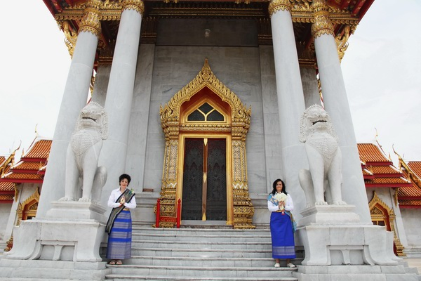 Bangkok Temple Same Sex Marriage Blessing Package Morning