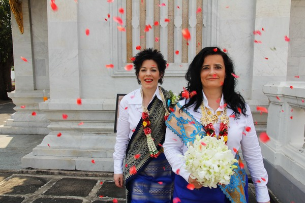 Bangkok Temple Same-Sex Marriage Blessing Package Morning