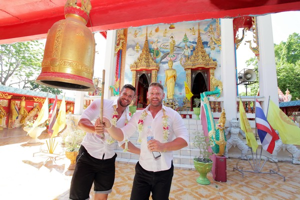 Phuket Temple Same Sex Marriage Blessing Package Morning