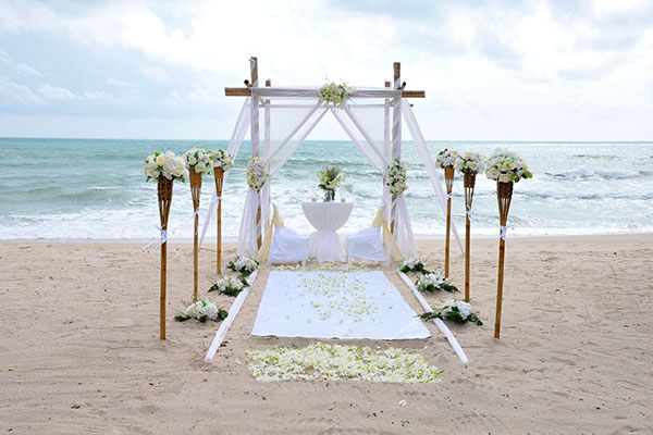 Beach Wedding Ceremony Packages Venue 03 Koh Chang Thailand
