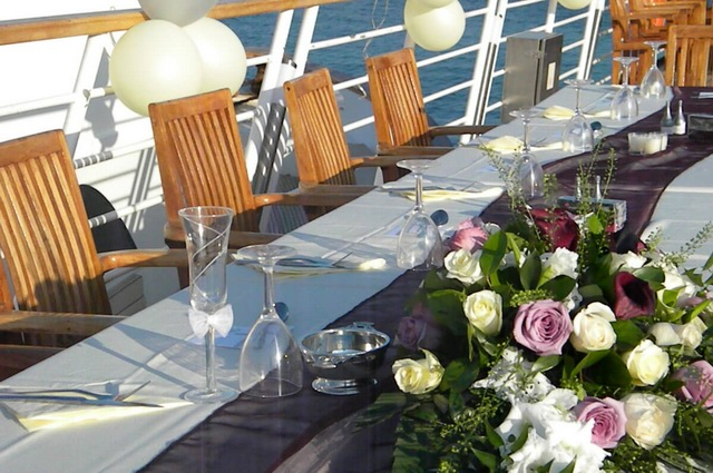 On Yacht Wedding Venue